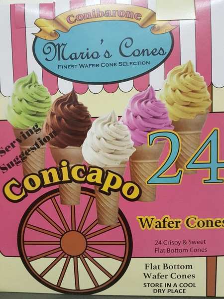 24CONES  X 24 RETAIL BOXES IN A CASE
